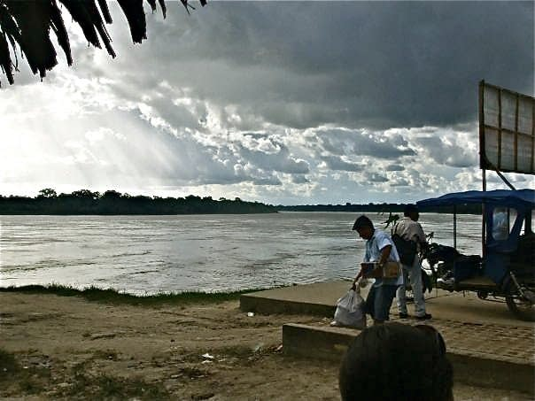 Village Gossip Storm brewing over the Amazon
